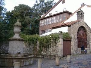 Fuente y Capilla calle Rivero
