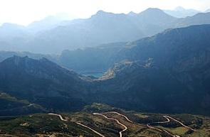 Vista del Parque Natural de Somiedo