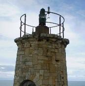 Faro antiguo del Cabo S. Agustín en Ortiguera-Coaña