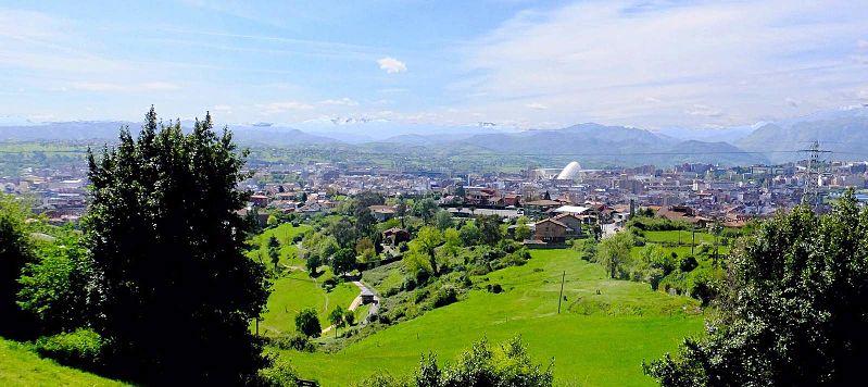Mirador Monte Naranco (Oviedo)